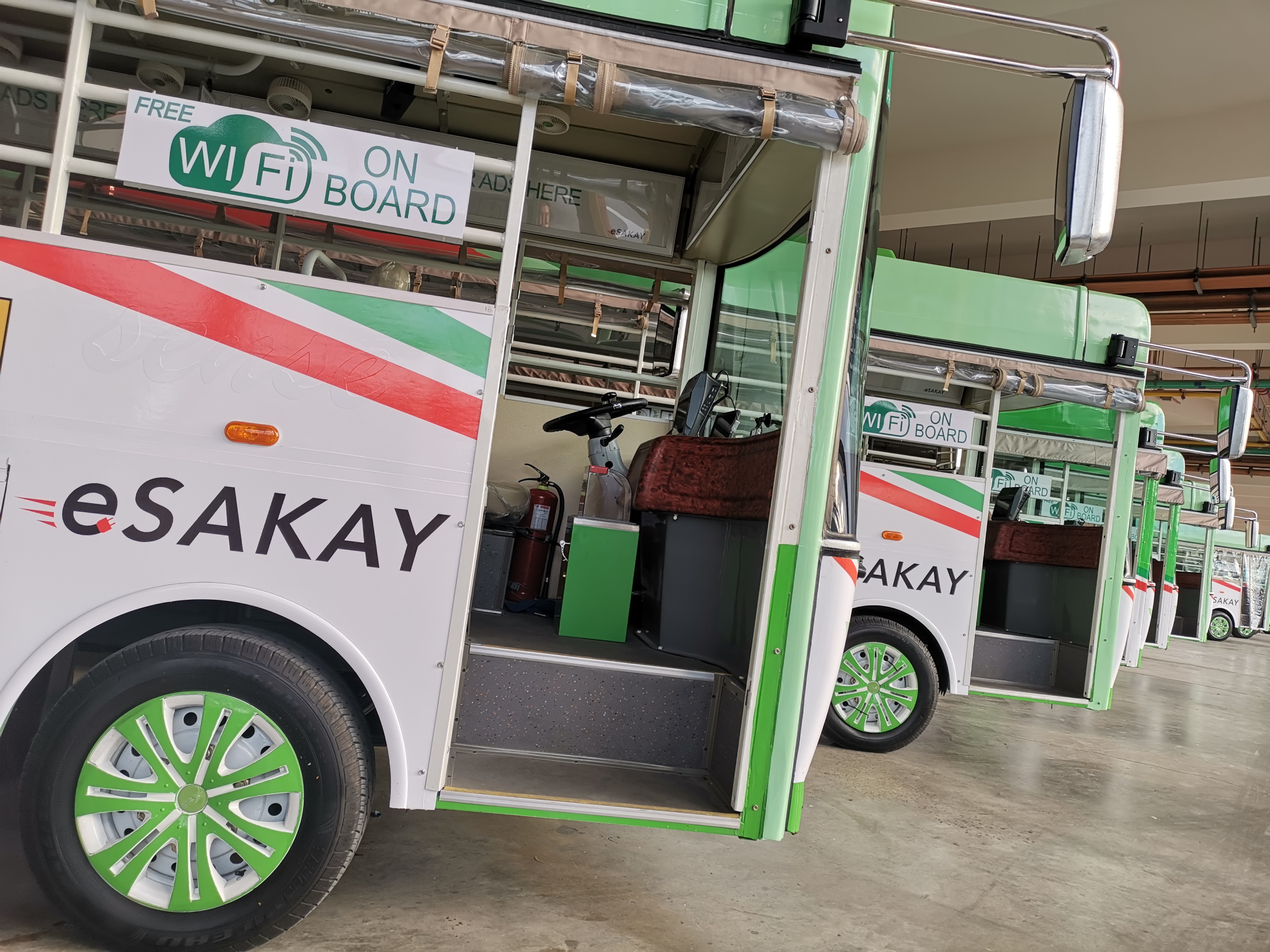 eSakay Jeepneys in Circuit Makati
